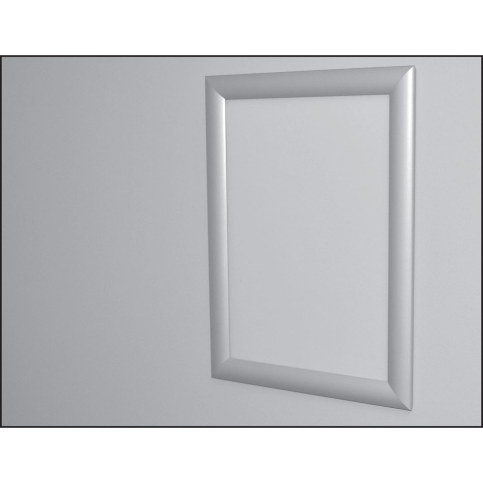 A1 Snap Frame In Silver